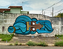 Graffiti em Marília