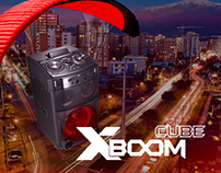 Campaña LG Xboom Cube