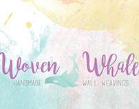 Woven Whale Logo & Business Card Design