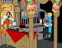 Concept Foods Inc. Exhibit Booth Design