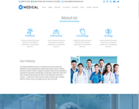 About Page - Medical WordPress Theme
