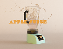Apple Juice - Motion Graphics