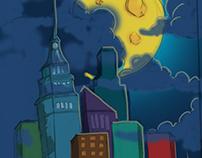 Cityscape Digital Drawing