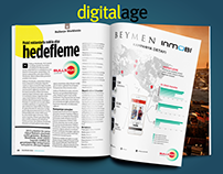 Beymen Advertorial Infographic Design for Bullseye WW