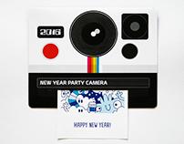NY 2016 Polaroid card