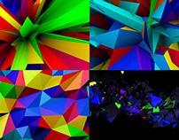 Abstract Colors - VJ Loop Pack (4in1)