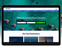 Hotel Deals & Trips Booking Website Template