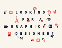 Looking for a graphic designer?