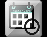 """Diseño App y Campaña exterior """"Appterwork"""""""