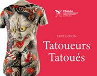Visite Virtuelle de l'exposition Tatoueurs, Tatoués.