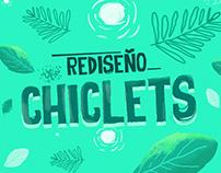 Rediseño Chiclets