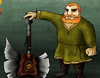 Character Design - Dwarf Times