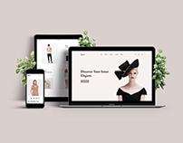 E-commerce Web Design Concept