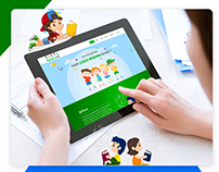 Website Design For Small Children School | Lexile Score