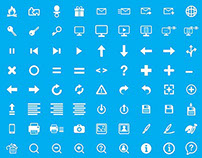 ICON SET FOR DASH COMPUTER SOLUTIONS