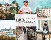 Free Luxembourg Mobile & Desktop Lightroom Presets
