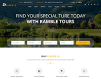 Ramble - Tour & Travel Agency HTML Template