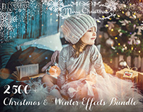 2500+ Christmas & Winter Overlays