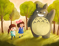Playing With Totoro