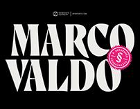 Marcovaldo Typeface - A new free serif display