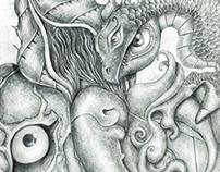My Sketchbook Collection 2014 #27 By Alongkorn Orpanya