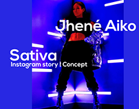 Jhené Aiko - Sativa ft. Rae Sremmurd | Concept