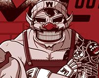 Ilustra Geek - UMC 001 Mario VS Wario