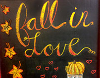 A few recent chalk arts