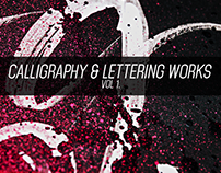 Calligraphy & Lettering Vol 1