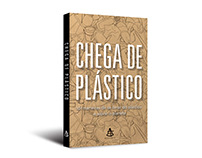 "Cover design of ""Chega de plástico"""