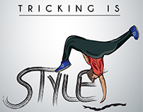 Tricking T-Shirt Design
