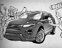 Range Rover TV Commercial Storyboards