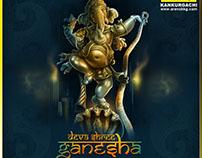 Ganapati Bappa Morya! - Digital Painting - ArenaKKG