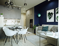 The project apartment in Chelyabinsk.