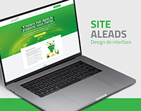 UI - Site Aleads 2021