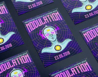 MODULATION • Party Poster