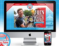 National Maker Faire: Site and Social Media Design