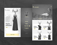 Mobile App Fashion & Ecommerce