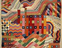 Tapestry by Gunta Stölzl