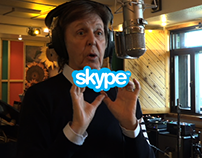 Skype & Paul McCartney