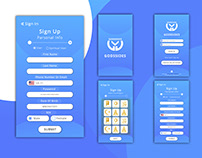 Godssides App UI Design