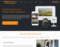 Vivint SmartHome: Web Design and Development