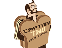 Captain Two Pieces of Bread