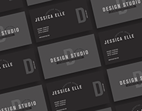 Free Creative Design Studio Business Card Template