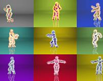 Hair & Dance Simulation Study