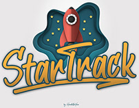 Free StarTrack Handwriting Font