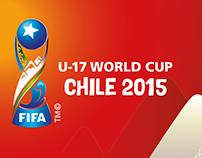 Diseño Escenario / Muldial Sub 17 , Chile 2015