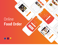 Online Food Order Mobile App | UX/UI design