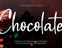 FREE | Chocolate Font