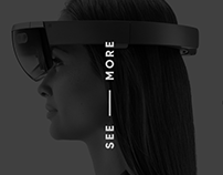 SEE MORE. Augmented reality (AR) Landing page